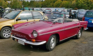 Small, rear-engined sports car manufactured by Renault, 1958-1968.