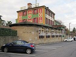 L'Auberge du Pont de Collonges, célèbre restaurant de Paul Bocuse.