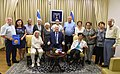 Reuven Rivlin hosts an immigrants from the Exodus ship marking the 70th anniversary of its voyage to Eretz Israel, July 2017 (2340).jpg