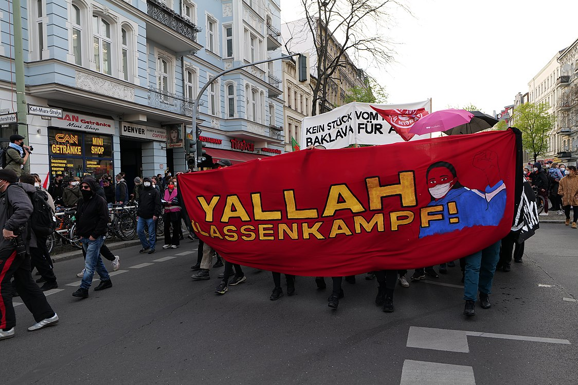 Revolutionary 1st may demonstration Berlin 2021 29.jpg