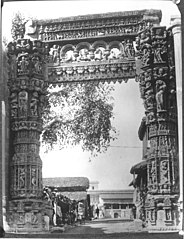 Rewa Gate or Jhula Darwaza in the 1880s.jpg