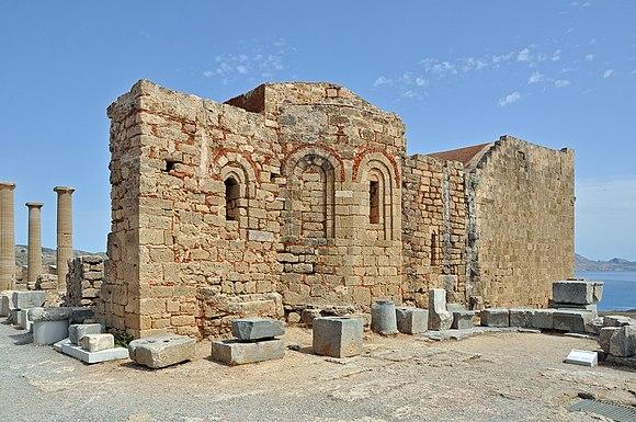 Rhodos Lindos Acropolis R02