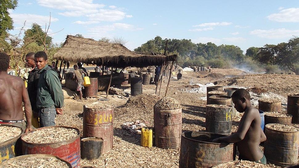 Rhum distillery Madagascan style I