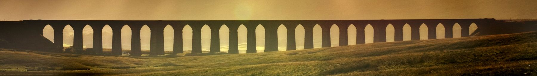 Ribblehead Viaduct in North Yorkshire