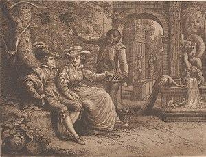 Ottobah Cugoano - Richard and Maria Cosway, and Ottobah Cugoano, (1784) by Richard Cosway