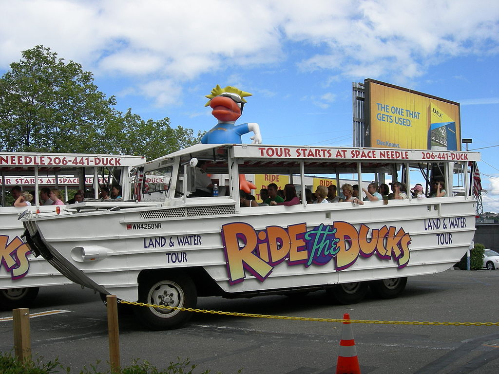Duck Tour Seattle Video