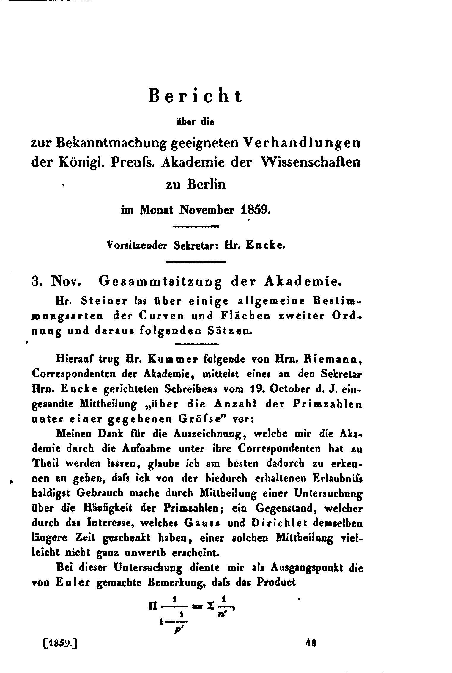 File:RiemannPrim1859.djvu - Wikimedia Commons