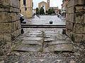Rimini, porta montanara, int. 03 lastricato.JPG