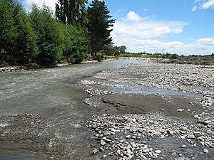 Allipén River - Image: Rio Allipén
