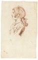 Ritstudie på pojke, 1700-tal - Skoklosters slott - 99183.tif
