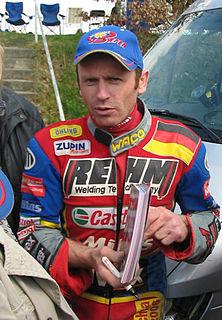 Robert Barth German speedway rider