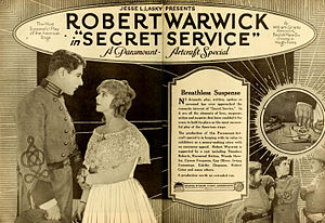 Robert Warwick - Secret Service, 1919