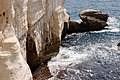 Rocks and water by Rosh Hanikra.jpg