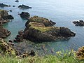 Rocks off Western Combe Cove - geograph.org.uk - 806588.jpg