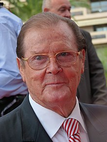 Roger Moore, 2012.