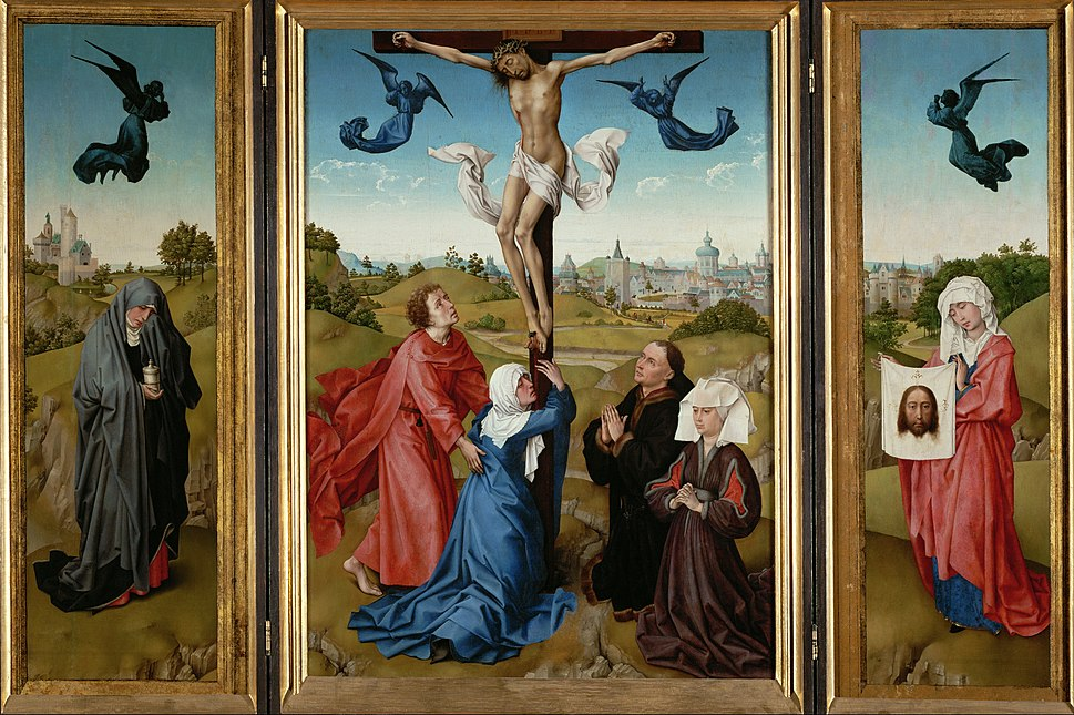 Rogier van der Weyden - Triptych- The Crucifixion - Google Art Project
