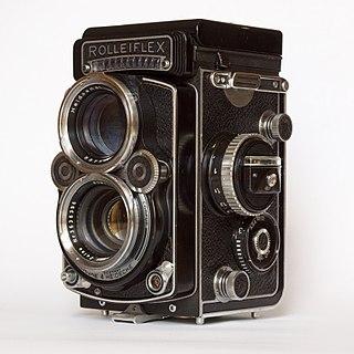 Rolleiflex still camera