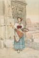 Roman Flower Seller - Clelia Bompiani-Battaglia.png