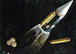 Single-stage-to-orbit - ROMBUS concept art