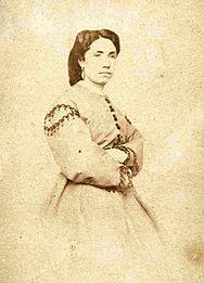 Rosalía por Encausse. Santiago, década dos 60 do s.XIX
