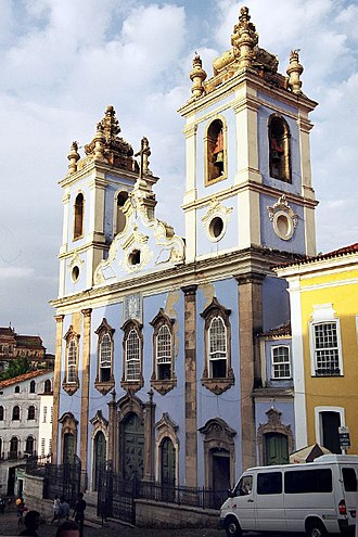 Church of the Third Order of Our Lady of the Rosary of the Black People - Church of the Third Order of Our Lady of the Rosary of the Black People in the Pelourinho
