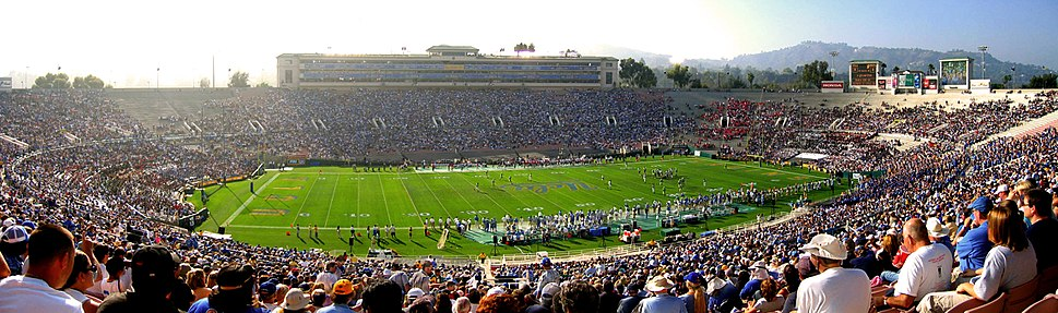 Rose Bowl, panorama