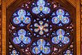 Rose window of Church of St. Vincent Ferrer (NYC).jpg