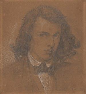 Dante Gabriel Rossetti - Self-portrait, 1847