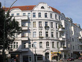 Schöneberg - Gründerzeit building on the Rote Insel