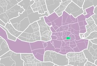 Kop van Zuid - Image: Rotterdamse wijken kop van zuid