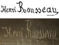Rousseau Henri autograph.png