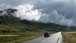 Húnavatnshreppur - Image: Route 1 again