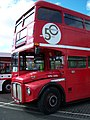 Routemaster bus RML 2686 Routemaster 50 livery SMK 686F Metrocentre rally 2009 pic 8.JPG