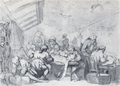 Rowlandson - Hunter's dissection room.png