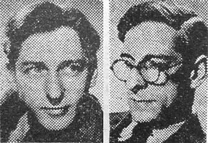 Boulting brothers - Roy (left) and John (right) Boulting, 1952