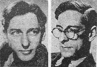 Boulting brothers - Roy (left) and John (right) Boulting, in 1952