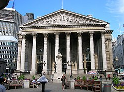 Royal Exchange, Threadneedle Street EC2 - geograph.org.uk - 1272444.jpg