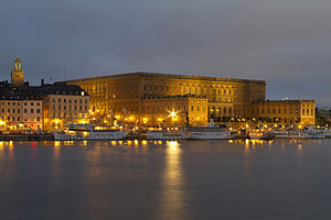 Stockholm Palace - The Royal Palace in Stockholm.