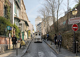Image illustrative de l'article Rue Cortot
