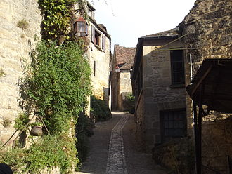 Beynac-et-Cazenac - Image: Ruelle à Beynac (24)