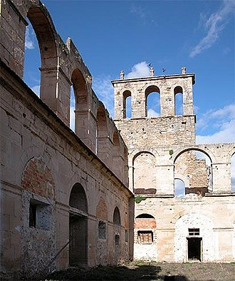 Santa María de Óvila - The ruins of the monastery in Spain