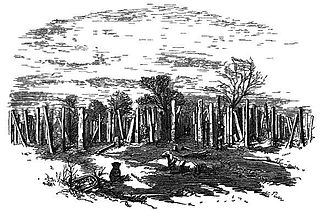 "Ceylon, Physical, Historical and Topographical - Figure from ""Ceylon"" Ruins of the Brazen Palace, wood engraving by Andrew Nicholl"