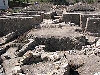 Ruins of 10th Century Christian Church from Alba Iulia 2011.jpg