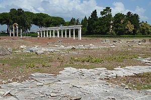 Minturno - The Imperial forum