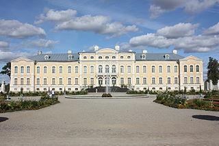 Rundāle Palace château
