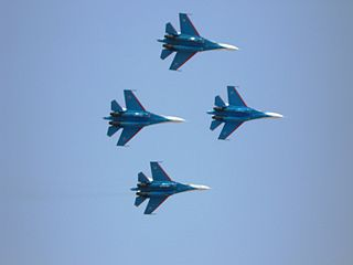 Russian Knights Russian Air Force aerobatics team