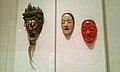 Ryō-ō, the Dragon King, Nō mask of a young woman and Drunken sprite Shōjo mask - British Museum.jpg