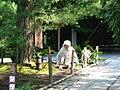 Ryoan-ji - vrouw onderhoudt het mos.jpg