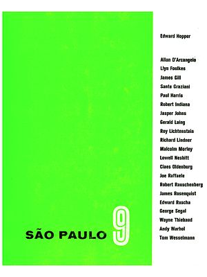 São Paulo Art Biennial - Image: São Paulo 9, 1967 (Cover)