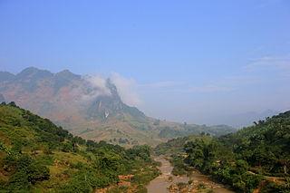 Mường La District District in Northwest, Vietnam